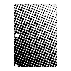Background Wallpaper Texture Lines Dot Dots Black White Samsung Galaxy Tab Pro 10 1 Hardshell Case