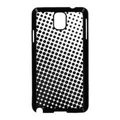 Background Wallpaper Texture Lines Dot Dots Black White Samsung Galaxy Note 3 Neo Hardshell Case (black)