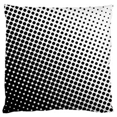Background Wallpaper Texture Lines Dot Dots Black White Standard Flano Cushion Case (one Side)
