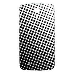 Background Wallpaper Texture Lines Dot Dots Black White Samsung Galaxy Mega I9200 Hardshell Back Case