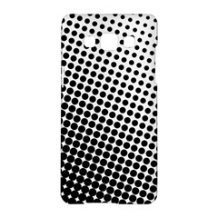 Background Wallpaper Texture Lines Dot Dots Black White Samsung Galaxy A5 Hardshell Case