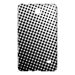 Background Wallpaper Texture Lines Dot Dots Black White Samsung Galaxy Tab 4 (8 ) Hardshell Case