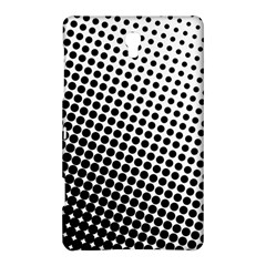 Background Wallpaper Texture Lines Dot Dots Black White Samsung Galaxy Tab S (8 4 ) Hardshell Case