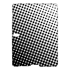 Background Wallpaper Texture Lines Dot Dots Black White Samsung Galaxy Tab S (10 5 ) Hardshell Case