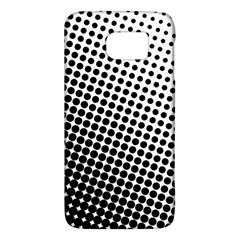 Background Wallpaper Texture Lines Dot Dots Black White Galaxy S6