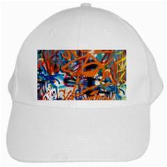 Background Graffiti Grunge White Cap