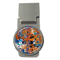 Background Graffiti Grunge Money Clips (round)