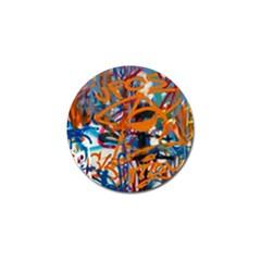 Background Graffiti Grunge Golf Ball Marker (10 Pack)