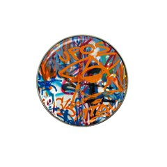 Background Graffiti Grunge Hat Clip Ball Marker (4 Pack)