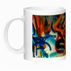 Background Graffiti Grunge Night Luminous Mugs
