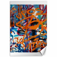 Background Graffiti Grunge Canvas 24  X 36