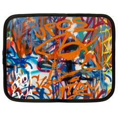 Background Graffiti Grunge Netbook Case (large)