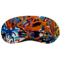 Background Graffiti Grunge Sleeping Masks
