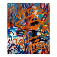 Background Graffiti Grunge Shower Curtain 60  X 72  (medium)