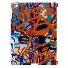 Background Graffiti Grunge Apple Ipad 3/4 Hardshell Case (compatible With Smart Cover)