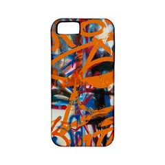 Background Graffiti Grunge Apple Iphone 5 Classic Hardshell Case (pc+silicone)