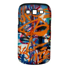 Background Graffiti Grunge Samsung Galaxy S Iii Classic Hardshell Case (pc+silicone)