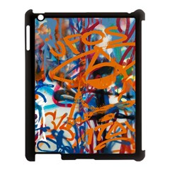 Background Graffiti Grunge Apple Ipad 3/4 Case (black)