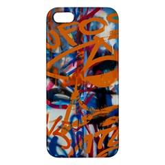 Background Graffiti Grunge Apple Iphone 5 Premium Hardshell Case