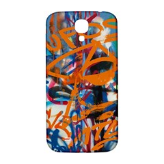 Background Graffiti Grunge Samsung Galaxy S4 I9500/i9505  Hardshell Back Case