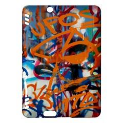 Background Graffiti Grunge Kindle Fire Hdx Hardshell Case