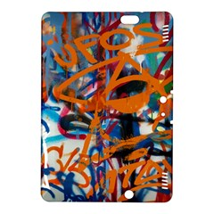 Background Graffiti Grunge Kindle Fire Hdx 8 9  Hardshell Case