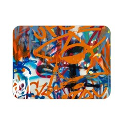 Background Graffiti Grunge Double Sided Flano Blanket (mini)