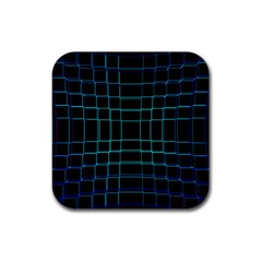 Background Wallpaper Texture Lines Rubber Square Coaster (4 Pack)