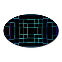 Background Wallpaper Texture Lines Oval Magnet
