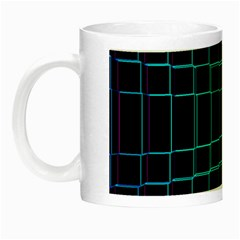 Background Wallpaper Texture Lines Night Luminous Mugs