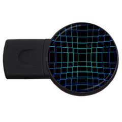 Background Wallpaper Texture Lines Usb Flash Drive Round (4 Gb)