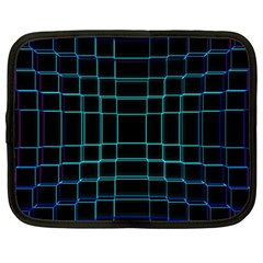 Background Wallpaper Texture Lines Netbook Case (large)