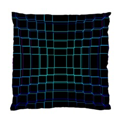 Background Wallpaper Texture Lines Standard Cushion Case (one Side)