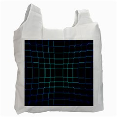 Background Wallpaper Texture Lines Recycle Bag (one Side)