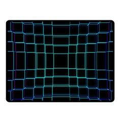 Background Wallpaper Texture Lines Fleece Blanket (small)