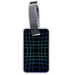 Background Wallpaper Texture Lines Luggage Tags (one Side)