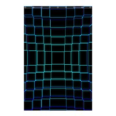 Background Wallpaper Texture Lines Shower Curtain 48  X 72  (small)