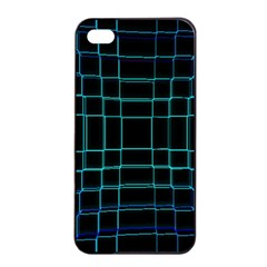 Background Wallpaper Texture Lines Apple Iphone 4/4s Seamless Case (black)