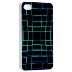 Background Wallpaper Texture Lines Apple Iphone 4/4s Seamless Case (white)