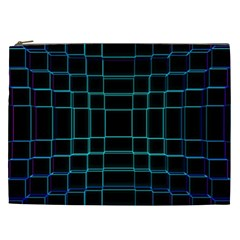 Background Wallpaper Texture Lines Cosmetic Bag (xxl)