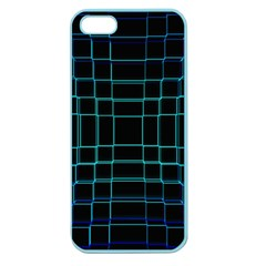 Background Wallpaper Texture Lines Apple Seamless Iphone 5 Case (color)