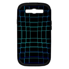 Background Wallpaper Texture Lines Samsung Galaxy S III Hardshell Case (PC+Silicone)
