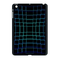 Background Wallpaper Texture Lines Apple Ipad Mini Case (black)