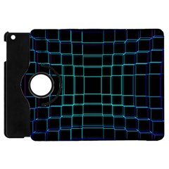 Background Wallpaper Texture Lines Apple Ipad Mini Flip 360 Case