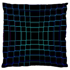 Background Wallpaper Texture Lines Large Flano Cushion Case (two Sides)