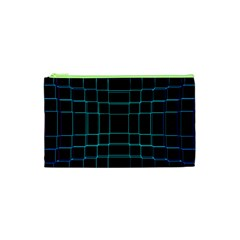 Background Wallpaper Texture Lines Cosmetic Bag (xs)