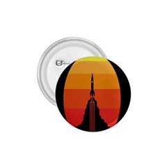 Plane Rocket Fly Yellow Orange Space Galaxy 1 75  Buttons