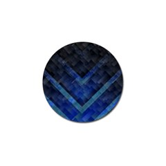 Blue Background Wallpaper Motif Design Golf Ball Marker