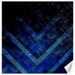 Blue Background Wallpaper Motif Design Canvas 20  X 20