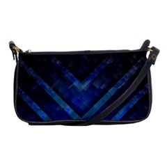 Blue Background Wallpaper Motif Design Shoulder Clutch Bags